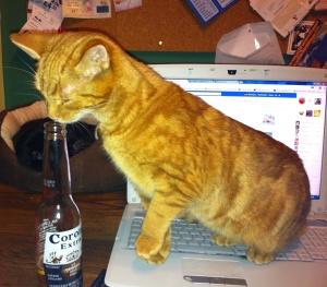 leo with my beer2